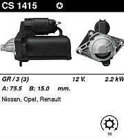 Стартер на Renault Trafic II 2006->2014, 2.0dCi   —MSG (Италия) - CMS1415