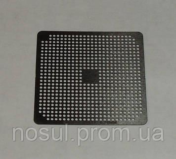 BGA шаблоны AMD 0.76 mm Soket SI CPU трафареты для реболла реболинг набор восстановление пайка ремонт прямого