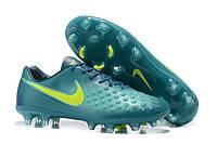 Футбольные бутсы Nike Magista Orden II FG Rio Teal/Volt/Obsidian/Clear Jade, фото 1