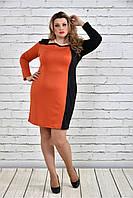 Женское платье батал 770324, размер 42, 44, 46, 48, 50, 52, 54, 56, 58, 60.