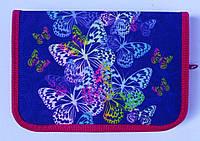 Пенал твердый Butterfly 1 отд. и 2 отвор. + расписание JO-17053