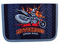 Пенал твердый Motocross 1 отд. и 2 отвор. + расписание JO-17263