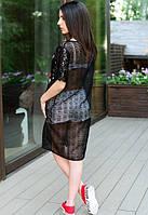 Женское платье-сетка у-t61032671