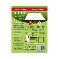 Eurolamp 40W 3300Lm 4000К/5500К Ra93 светодиодная LED-панель 600х600