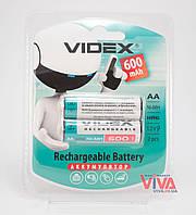 Аккумуляторы Videx AA 600 mAh (HR6, Ni-MH)