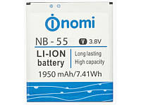 Аккумулятор (Батарея) Nomi i505 Jet NB-55 (1950 mAh)