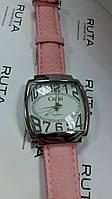 Часы наручные розовые