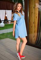 Женское джинсовое платье к-t61032674