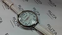 Часы наручные белые, фото 1