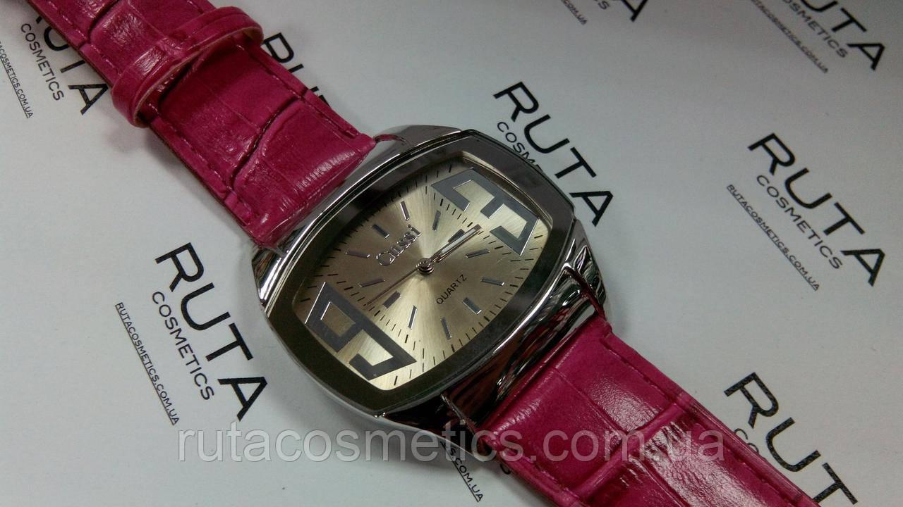 Часы наручные розовые (2)