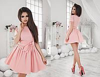Женское платье с пышной юбкой в разных цветах