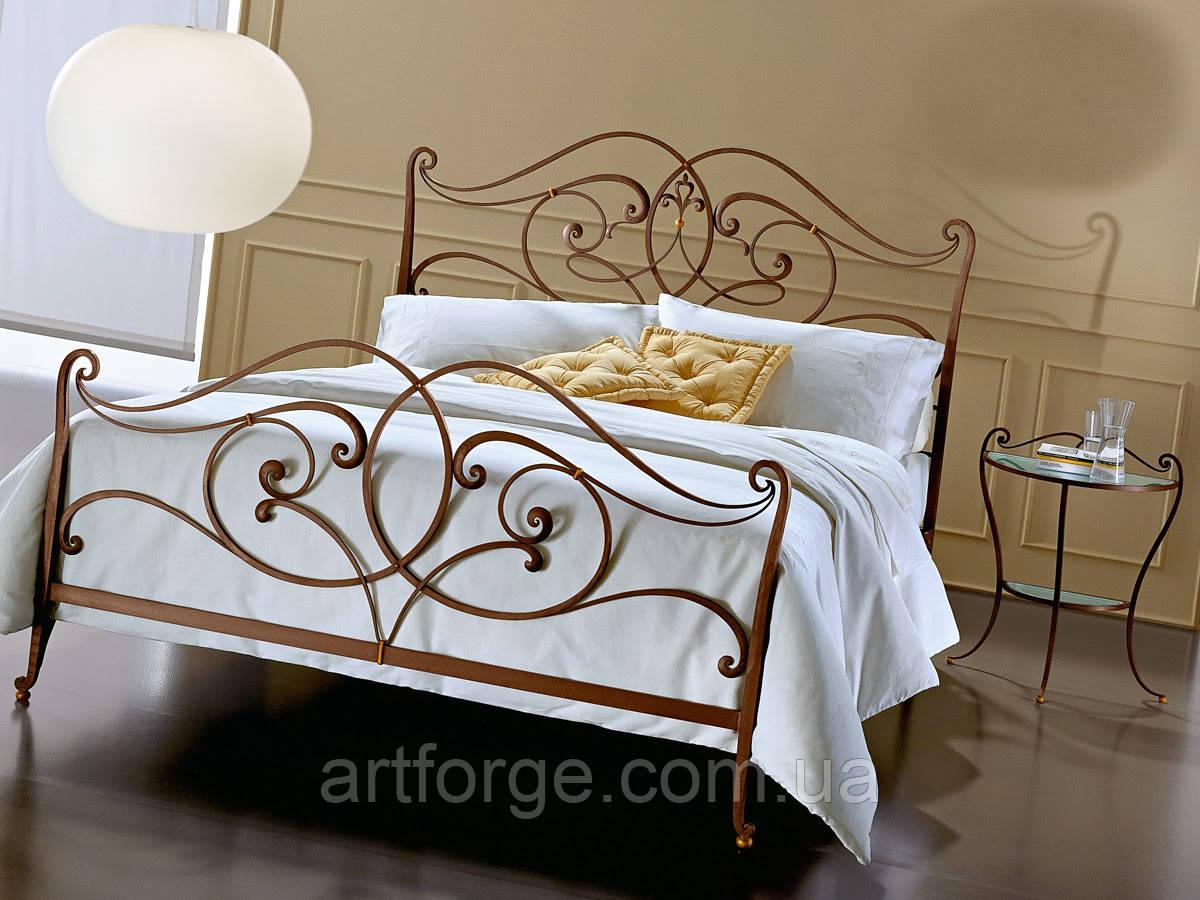 Кованая кровать ИК 603