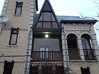 Прозрачные ПВХ шторы для проемов арочной формы