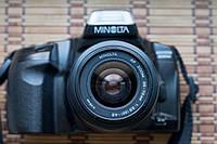 Minolta Maxxum 300si +, zoom 35-70