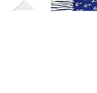 Летний конверт-одеяло на выписку 73х73 с атласным бантом верх низ хлопок утеплитель синтепон 3591 Синий
