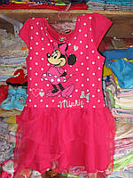 """Платье для девочки """"Minnie""""рост 110-128"""