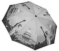 Модный черно-белый зонтик 3563A/2