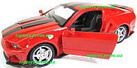 Машинка на радиоуправлении Ford Mustang Форд Мустанг, открываются двери, 22см, аккумулятор, свет