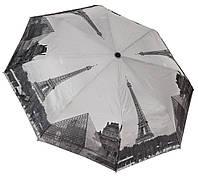 Модный черно-белый зонтик 3563A/3