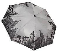 Модный черно-белый зонтик 3563A/5
