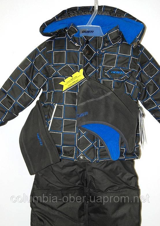 Зимний комплект для мальчика BOUTIQUE by Gusti 4044 GWВ. Размеры 89 - 157.