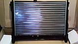 Радиатор охлаждения Ланос 1,5-1,6 без кондиционера ЛУЗАР (алюминиевый сборной), фото 2