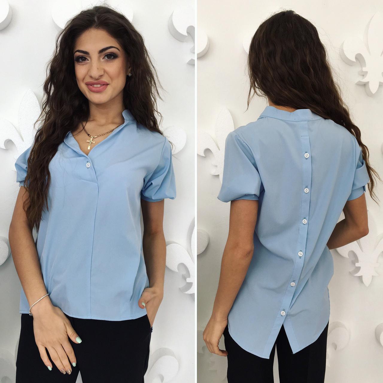 47c259d52f67 Блузка с пуговицами на спине - All You Need - прямой поставщик женской  одежды оптом и