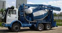 Автобетоносмесительная установка, объем 5м3, 6м3