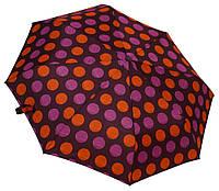 """Элегантный женский зонтик """"Круги"""" 3619 purple"""