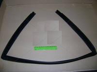 Уплотнитель стекла ВАЗ 2110,2112 опускного заднего левого (верхний) (производство БРТ,Россия)