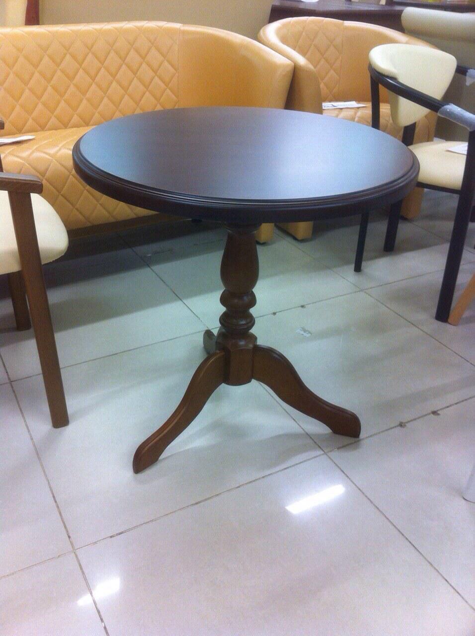 Стол кофейный Стелла венге деревянный