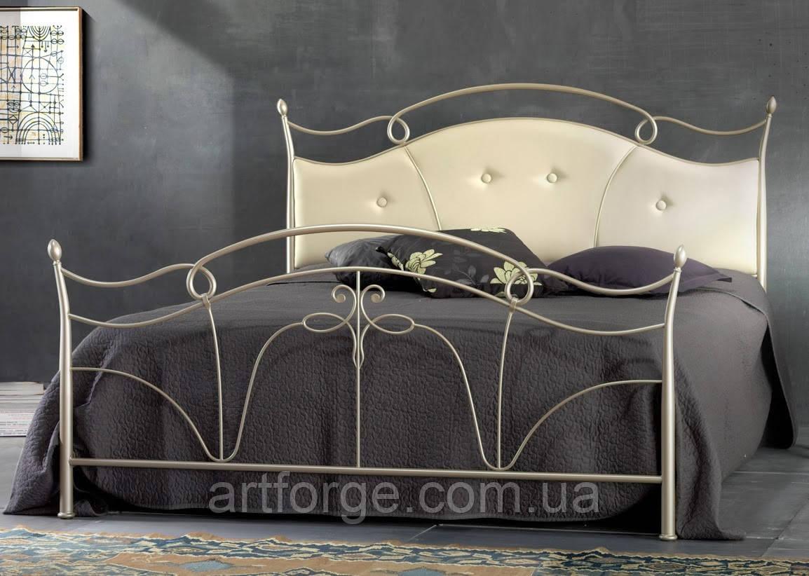 Кованая кровать ИК 608