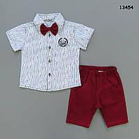 Нарядный костюм-тройка для мальчика.  98 см, фото 1