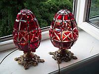 Витражный светильник Пасхальное яйцо