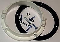 "Адаптер (переходник) на ""фланец"" для дымохода коаксиального (диаметр 100 мм), код сайта 0636"