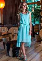 Стильное шифоновое яркое женское платье о-t61032696