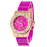 Hublot Big Bang Crystal Women Purple-Gold-Purple