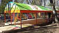 Металлический каркас для детской площадки
