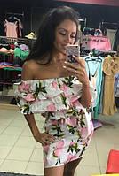 Платье летнее из тонкой ткани