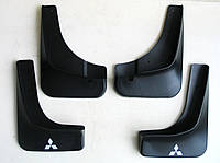 Mitsubishi Outlander XL брызговики колесных арок ASP передние и задние полиуретановые без порогов
