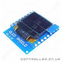 Модуль OLED дисплей для платы WeMos D1, D1 mini