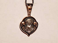 Золотая подвеска. Ангел хранитель. Артикул 11556-Ч, фото 1
