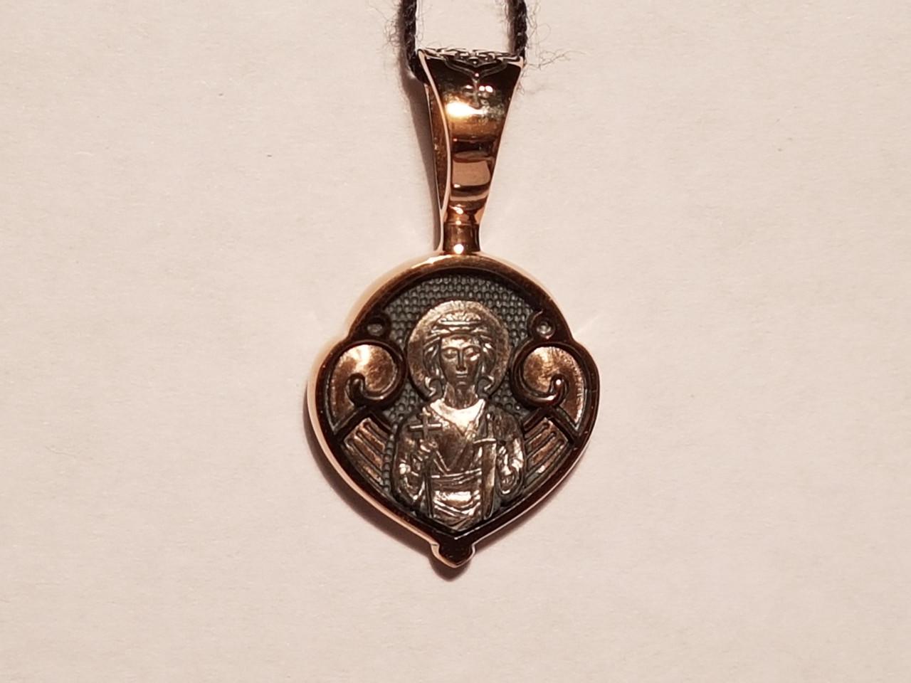 Золота підвіска. Ангел хоронитель. Артикул 11556-Ч