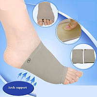 Ортопедические носки с силиконовыми вкладками от плоскостопия (в обувь)