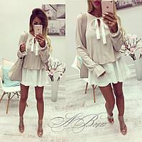 Платье летнее короткое , ткань вискоза, 2 расцветки ,хорошее качество юкрас № 263-320