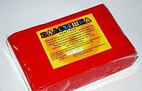 Полимерная глина Пластишка, №0108 красный алый, 250г
