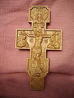 Крест резной православный.