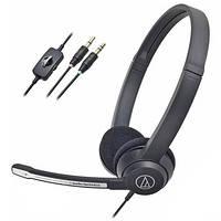 Гарнитура для ПК Audio-Technica ATH-330COM (Черный) 13080