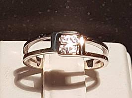 Золотое кольцо с фианитами. Артикул 3523243 16