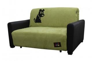 Диван Свити 1,3 см.,  дизайн принт №2 (собака) купить не дорого